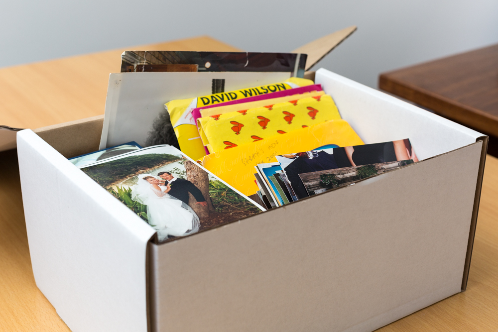 How to Order a Photo Box Digitisation as a Gift
